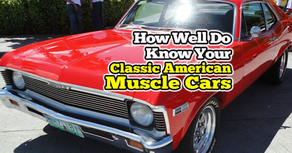 Quizwow Can You Name These Classic American Muscle Cars